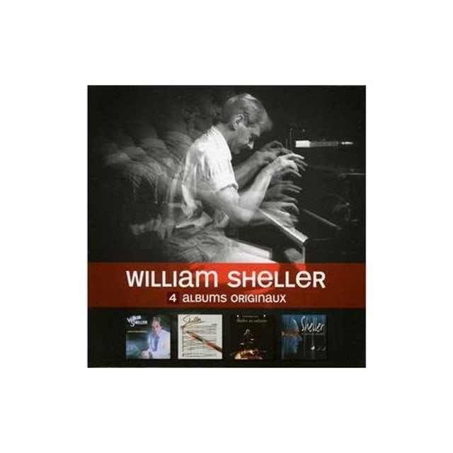 William Sheller 4 ORIGINAL ALBUMS CD