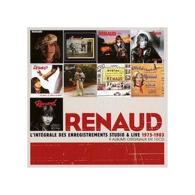 Renaud INTEGRALE DES ENREGISTREMENTS CD