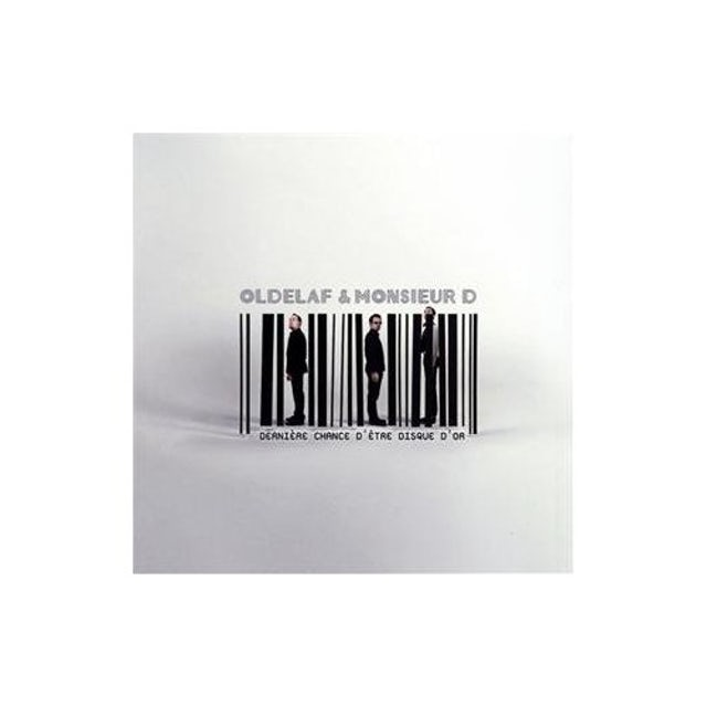 Oldelaf DERNIERE CHANCE D'ETRE DISQUE D'OR CD