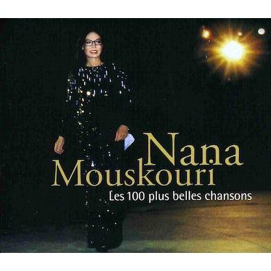 Nana Mouskouri LES 100 PLUS BELLES CHANSONS CD
