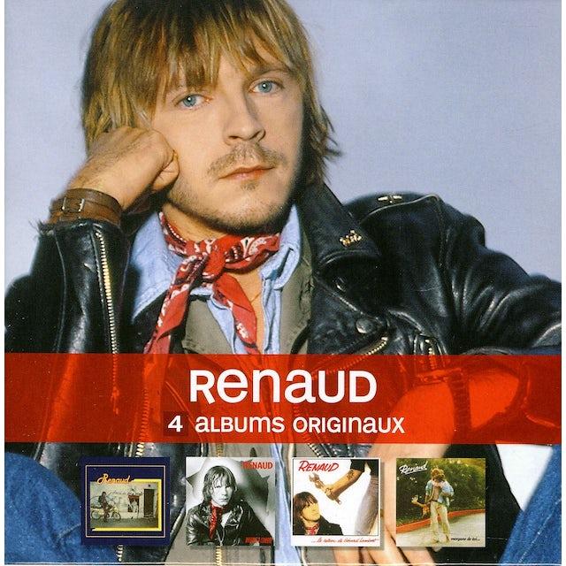 Renaud 4 ORIGINAL ALBUMS CD