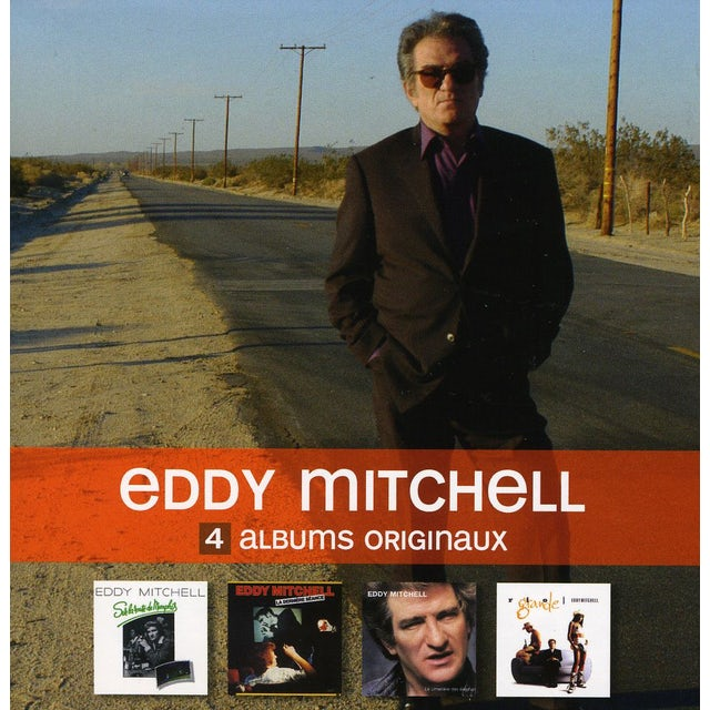 Eddy Mitchell 4 ORIGINAL ALBUMS CD