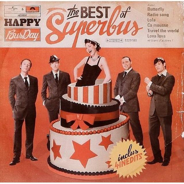 Superbus HAPPY BUSDAY: BEST OF CD