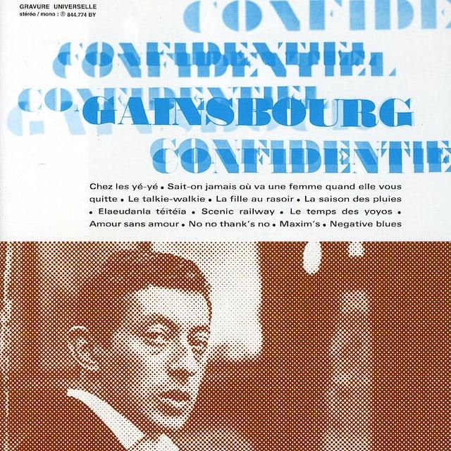 Serge Gainsbourg CONFIDENTIEL CD