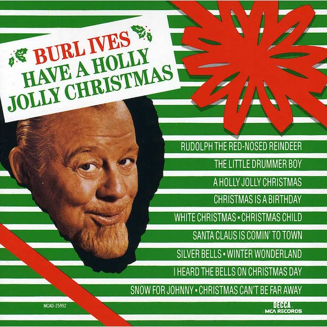 Burl Ives HAVE A HOLLY JOLLY CHRISTMAS CD