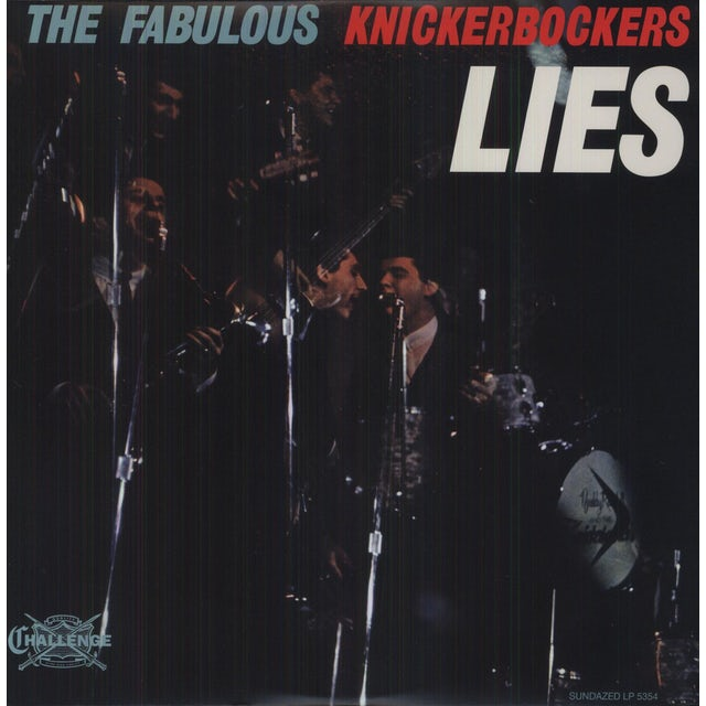 The Knickerbockers LIES Vinyl Record