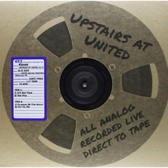 Keane UPSTAIRS AT UNITED 5 ( 06/21/2012 ) Vinyl Record