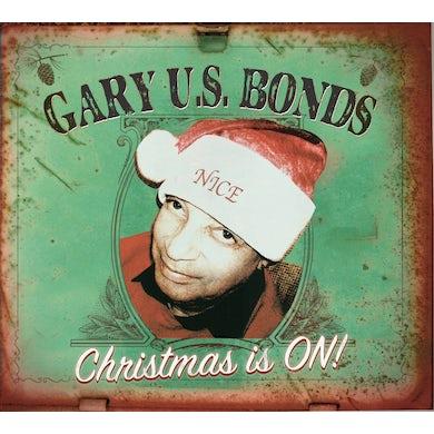Gary U.S. Bonds CHRISTMAS IS ON CD