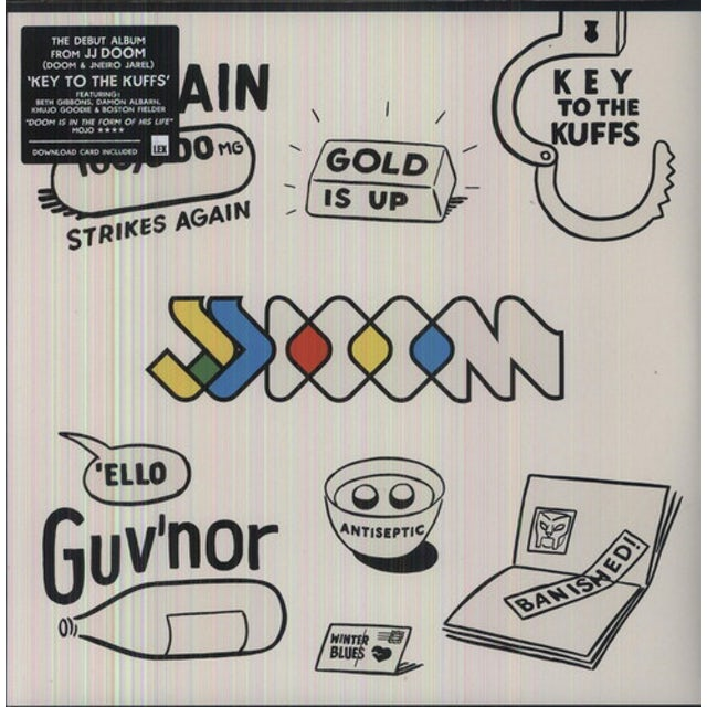 Jj Doom KEY TO THE KUFFS Vinyl Record