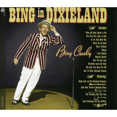 Bing Crosby BING IN DIXIELAND CD