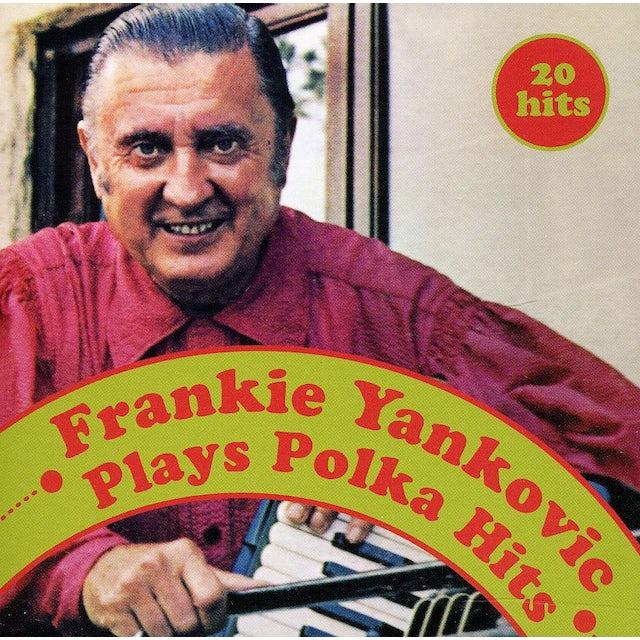 Frankie Yankovic PLAYS POLKA HITS CD