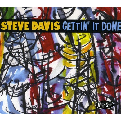 Steve Davis GETTIN IT DOWN CD