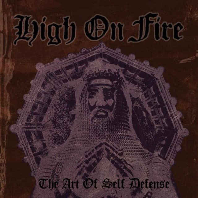 High On Fire ART OF SELF DEFENSE Vinyl Record
