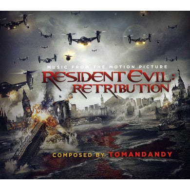 tomandandy RESIDENT EVIL: RETRIBUTION (SCORE) / Original Soundtrack CD