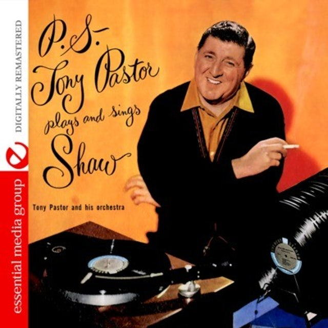 Tony Pastor PLAYS & SINGS ARTIE SHAW CD