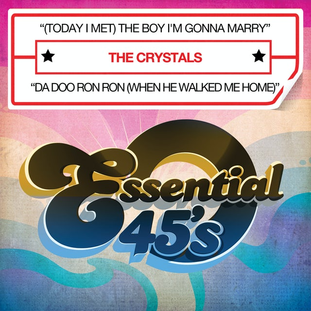 The Crystals BOY I'M GONNA MARRY CD