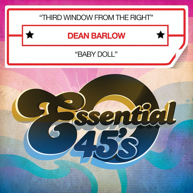 Dean Barlow THIRD WINDOW FROM THE RIGHT CD