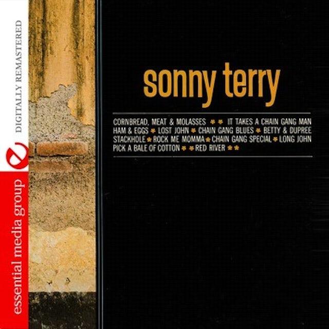 Sonny Terry ARCHIVE OF FOLK MUSIC CD