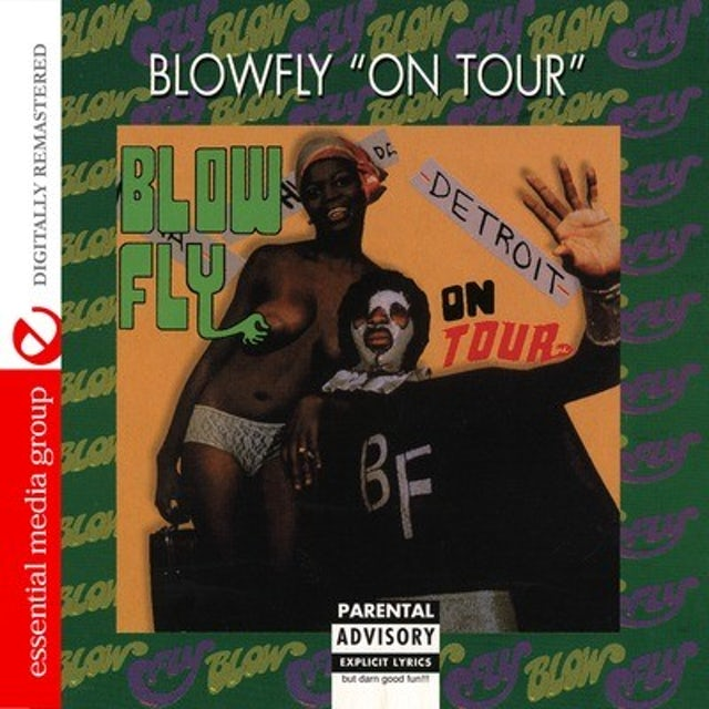 Blowfly ON TOUR CD