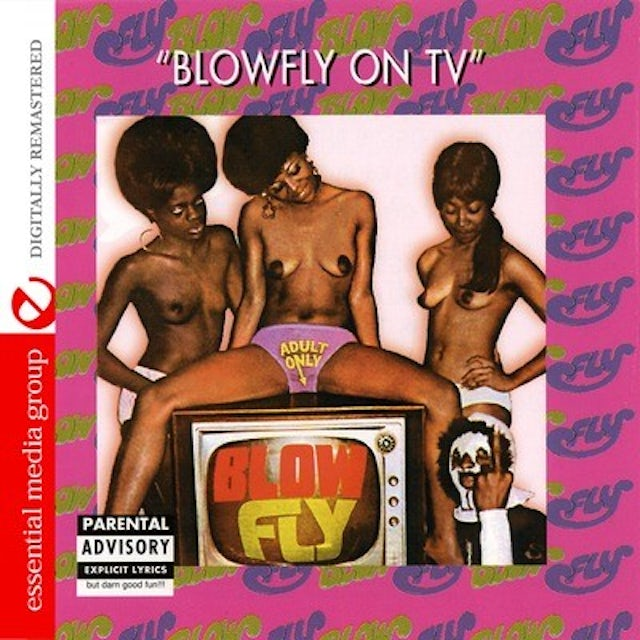 Blowfly ON TV CD
