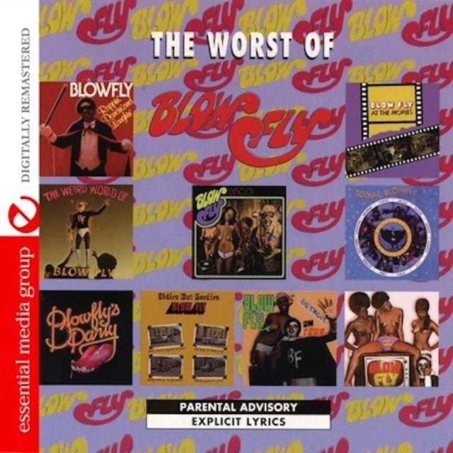 THE WORST OF BLOWFLY CD
