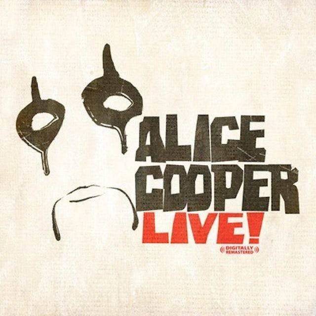 Alice Cooper LIVE CD