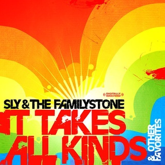 Sly & The Family Stone IT TAKES ALL KINDS & OTHER FAVORITES CD