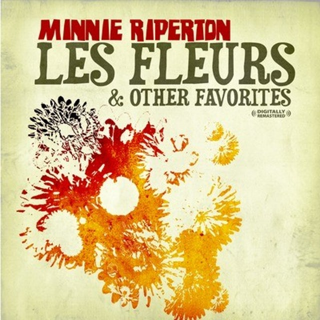 Minnie Riperton LES FLEURS & OTHER FAVORITES CD