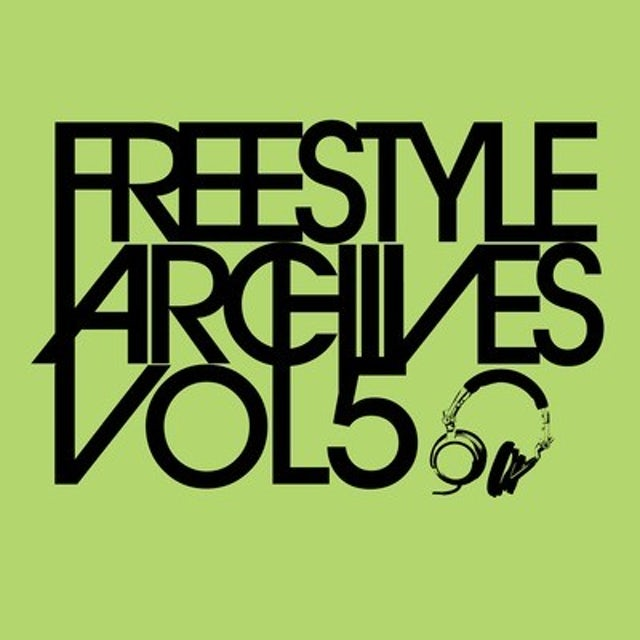 Topaz FREESTYLE ARCHIVES VOL. 5 CD