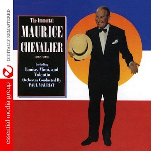 IMMORTAL MAURICE CHEVALIER CD