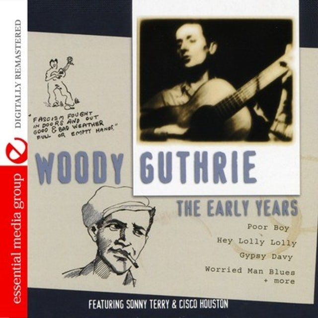 Woody Guthrie EARLY YEARS CD