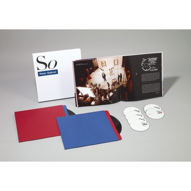 Peter Gabriel SO (25TH ANNIVERSARY EDITION) (IMMERSION BOX) CD