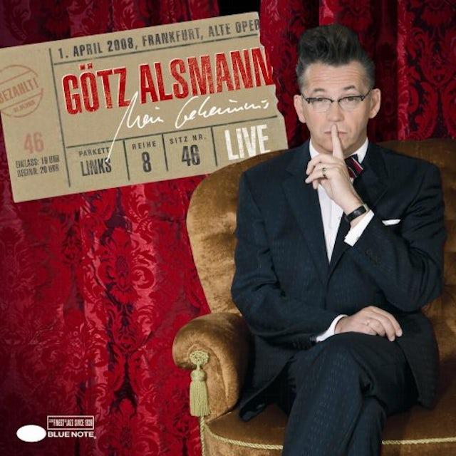 Gotz Alsmann MEIN GEHEIMNIS: LIVE CD