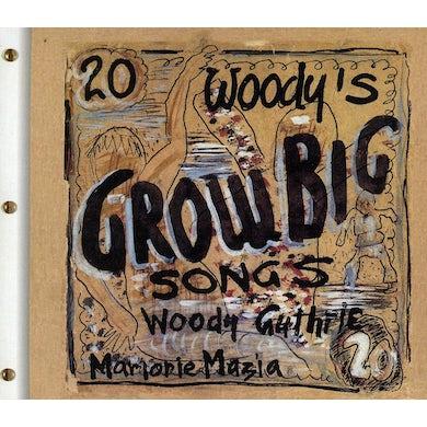 Arlo Guthrie WOODY'S 20 GROW BIG SONGS CD