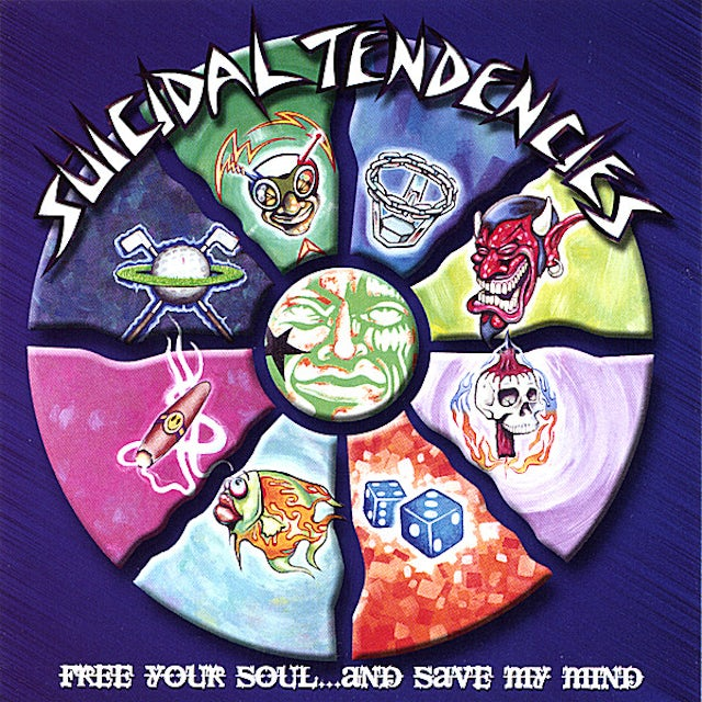 Suicidal Tendencies FREE YOUR SOUL & SAVE MY MIND CD