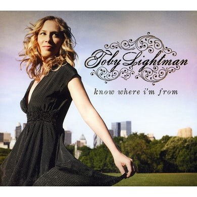 Toby Lightman KNOW WHERE I'M FROM CD