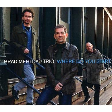Brad Mehldau WHERE DO YOU START CD