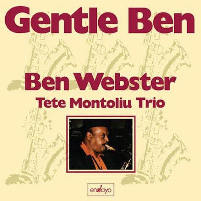 Ben Webster GENTLE BEN Vinyl Record