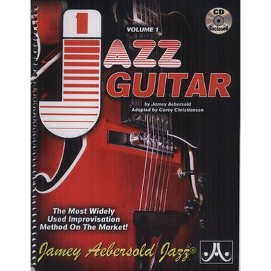 Jamey Aebersold JAZZ GUITAR 1 CD