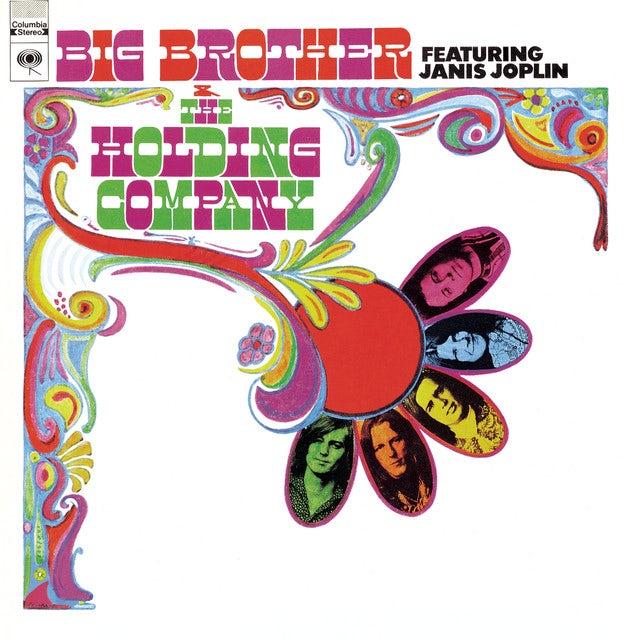Janis Joplin BIG BROTHER & HOLDING COMPAMY Vinyl Record