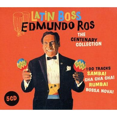 Edmundo Ros LATIN BOSS: CENTENARY COLLECTION CD