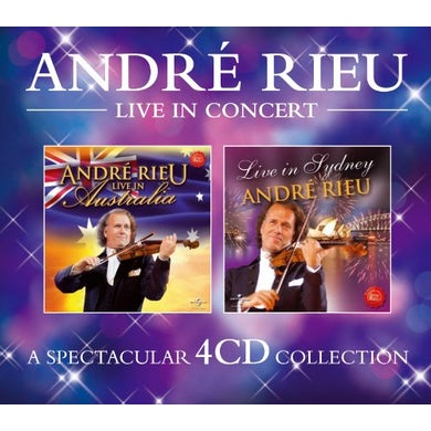 Andre Rieu LIVE IN CONCERT CD