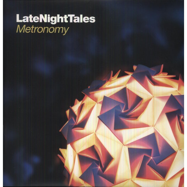 Metronomy LATE NIGHT TALES Vinyl Record