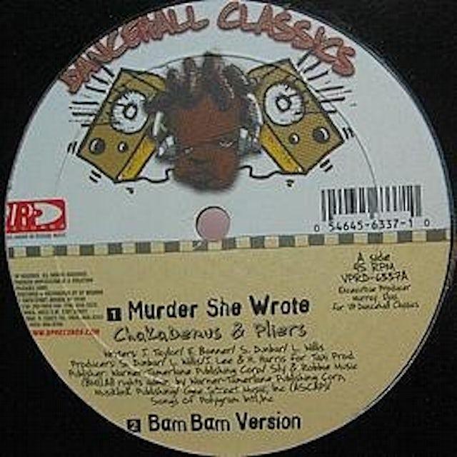 Sly & Robbie MURDER SHE WROTE Vinyl Record
