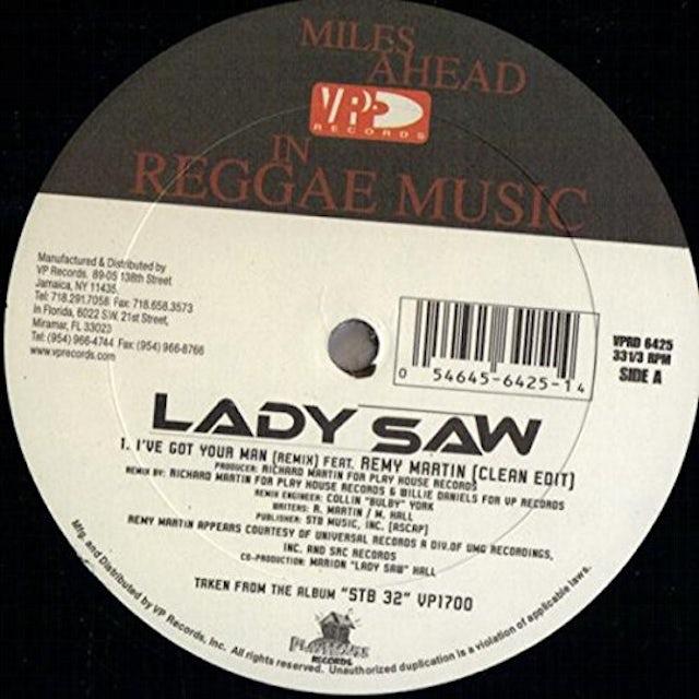 Lady I'VE GOT YOUR MAN (REMIX) Vinyl Record