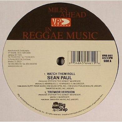 Sean Paul WATCH THEM ROLL Vinyl Record