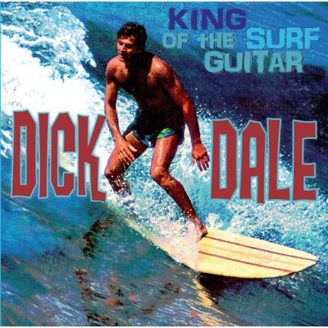 Dick Dale KING OF THE SURF GUITAR Vinyl Record