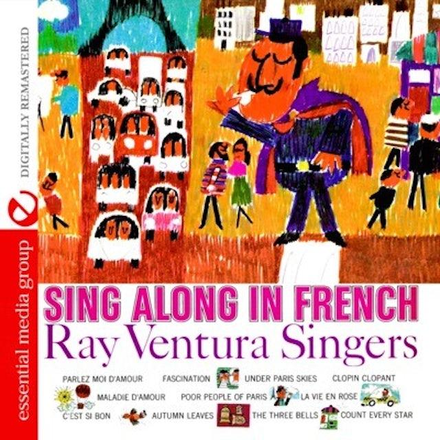 Ray Ventura SING ALONG IN FRENCH CD