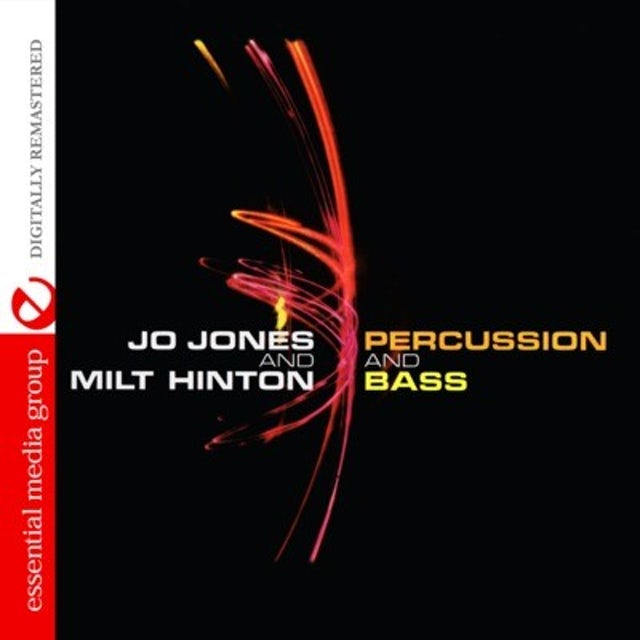 Jo Jones PERCUSSION AND BASS CD
