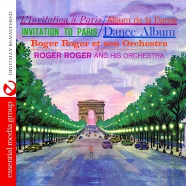 Roger Roger INVITATION TO PARIS CD